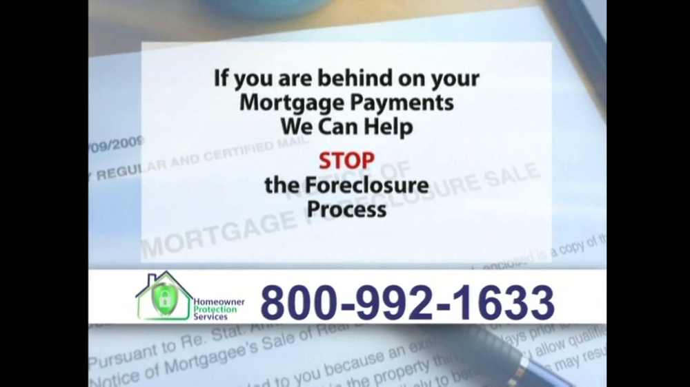 Homeowner Protection Services TV Spot, 'Mortgage Payments' - Screenshot 9