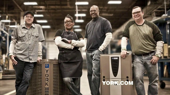 York Appliances TV Spot  'Built by York'