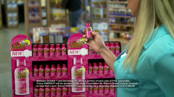 5 Hour Energy Pink Lemonade TV Spot