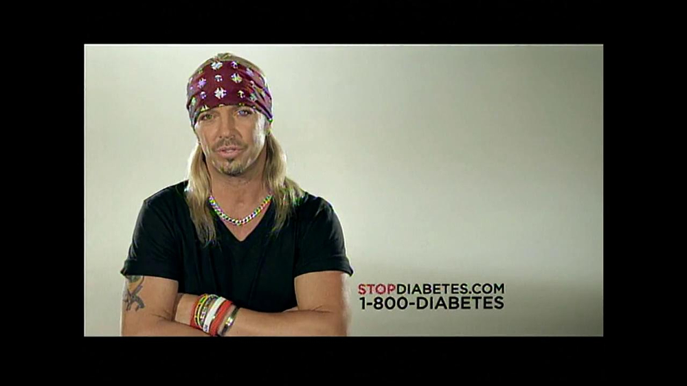 American Diabetes Association TV Spot Featuring Bret Michaels - Screenshot 9
