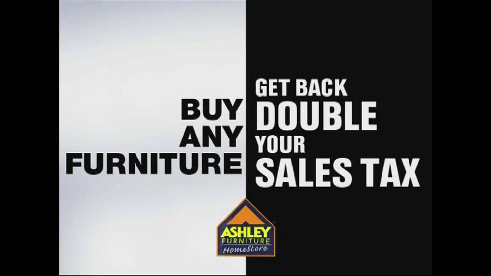 Ashley Furniture Homestore Tv Commercial 39 Sales Tax 39