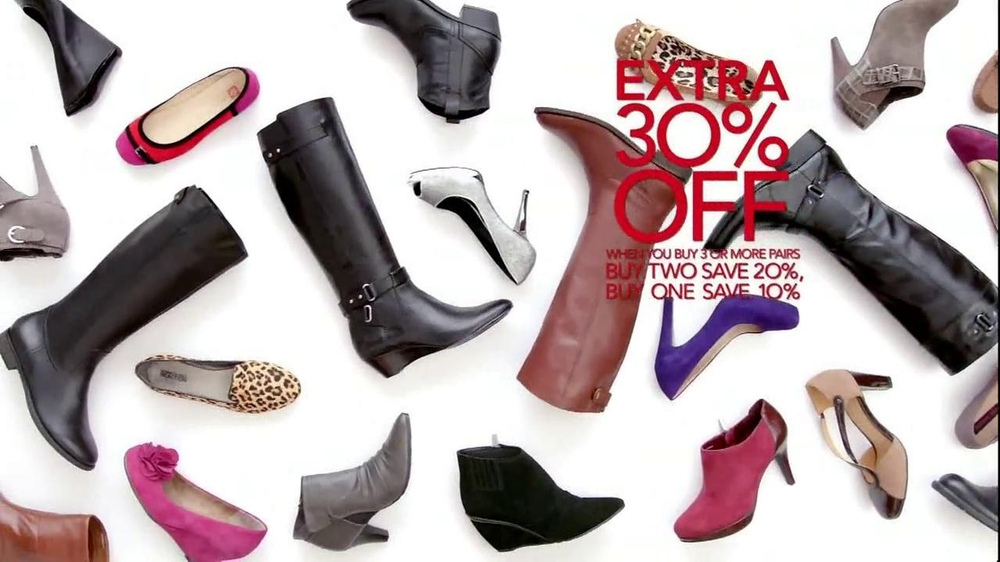 Macy39;s+Sale+Add Macy39;s Great Shoe Sale TV Spot  Screenshot 5