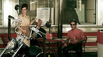 GEICO Motorcycle Money Man TV Spot, 'Driving Through' - Thumbnail 7