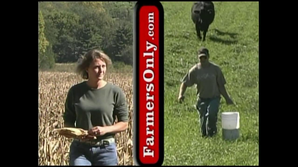 farmers dating site commercial Commercial for farmers dating site related advertisers after combing through other sites looking at profile after profile of city slickers who so often seem dubious, the level of upfront vulnerability on farmers only was a totally refreshing change.