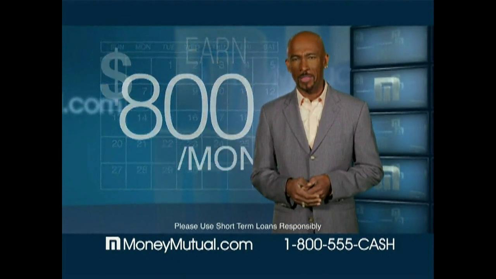 Money Mutual TV Commercial 39;Past Due39; feat. Montel Williams  iSpot.tv