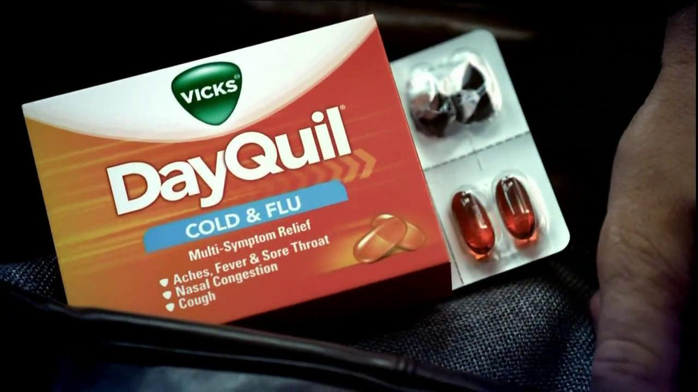 DayQuil TV Spot Featuring Drew Brees