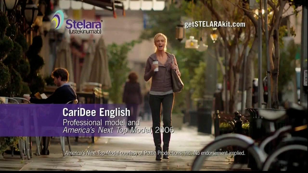 Stelara TV Spot Featuring CariDee English - Screenshot 1