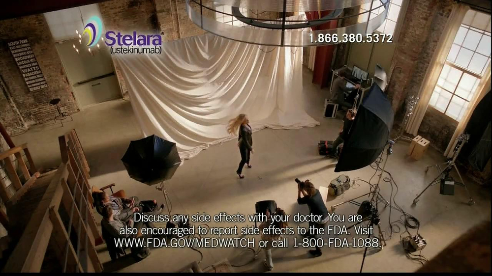 Stelara TV Spot Featuring CariDee English - Screenshot 7
