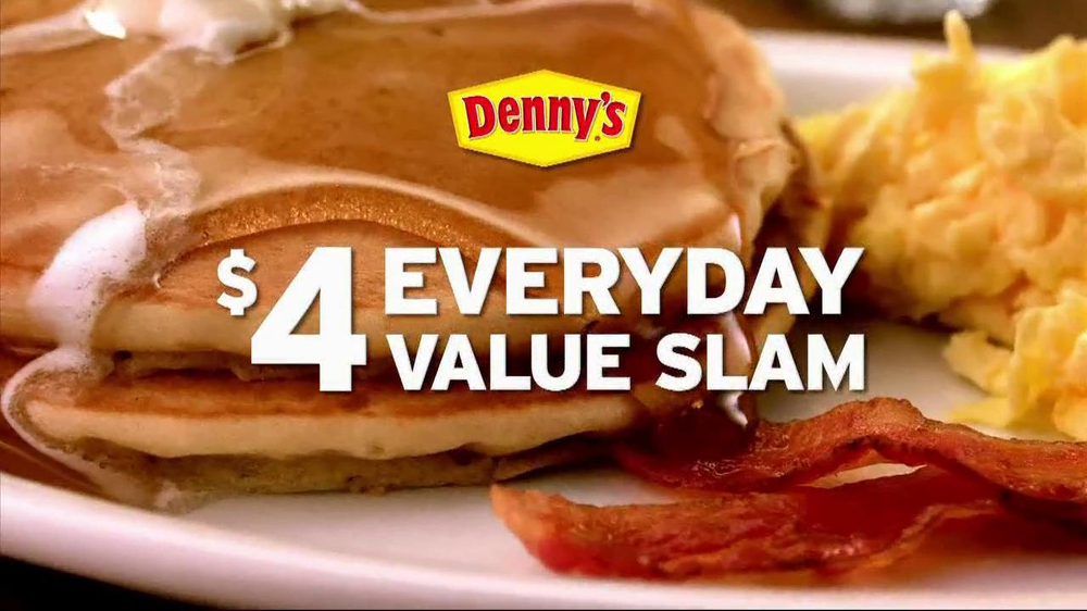 Denny's Everyday Value Slam TV Spot - Screenshot 5