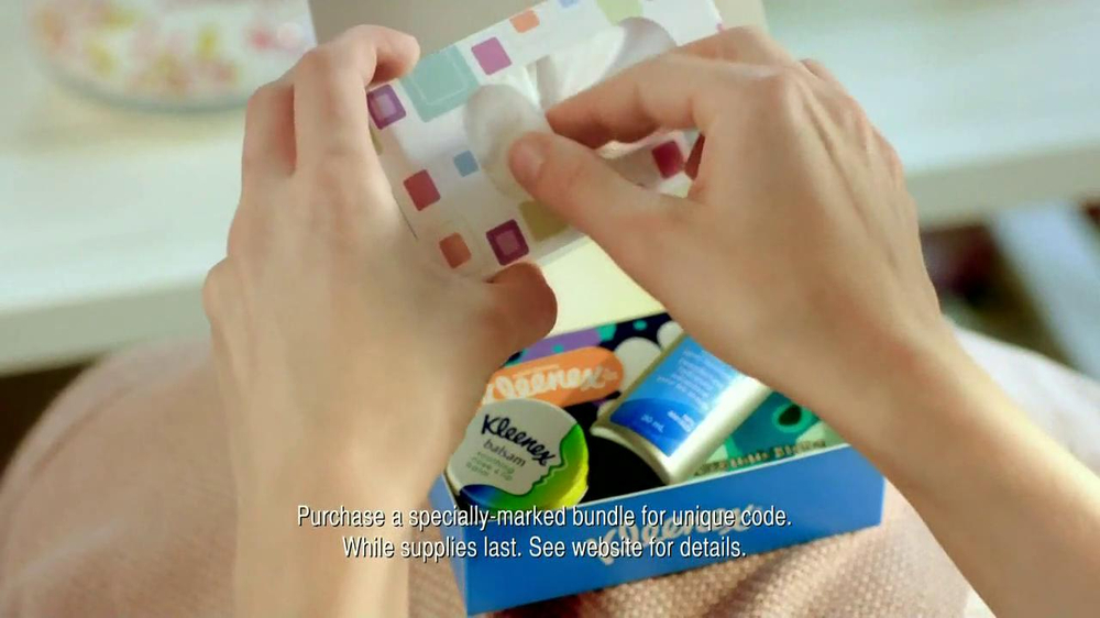 Kleenex Care Pack TV Spot, 'Get Well' - Screenshot 9