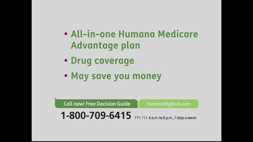 Humana Medicare Advantage Plan Tv Spot Big Book