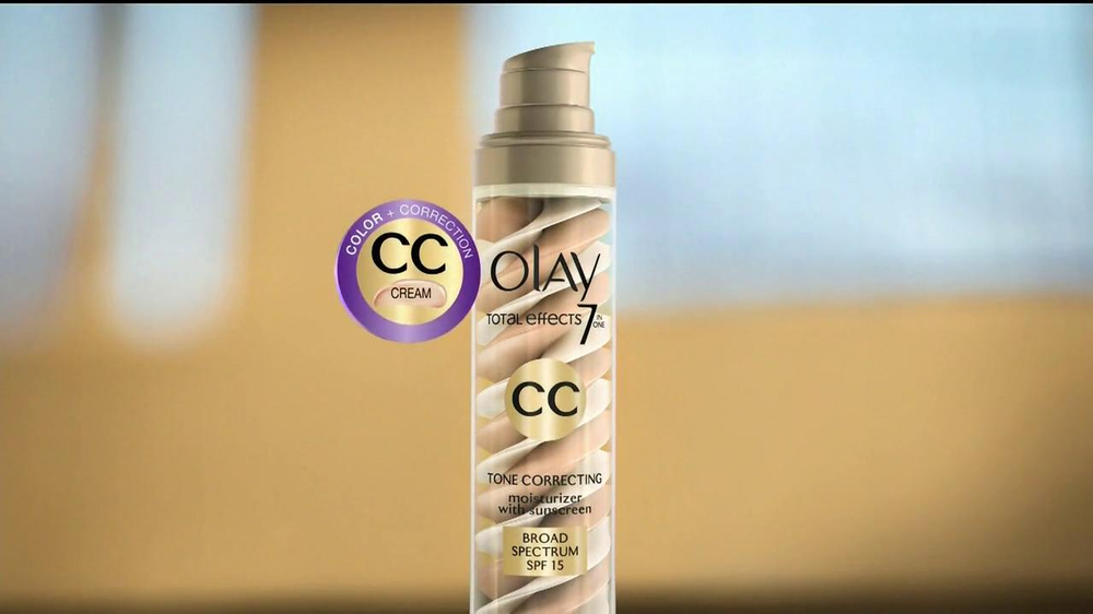 Olay Total Effects CC Cream TV Spot - Screenshot 5
