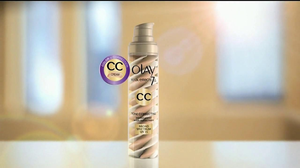 Olay Total Effects CC Cream TV Spot - Screenshot 8