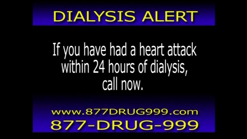 Pulaski Law Firm >> The Hollis Law Firm TV Spot, 'Dialysis Alert' - iSpot.tv