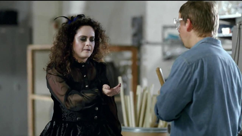 GEICO TV Spot, 'Happier Than a Witch in a Broom Factory' - Screenshot 5