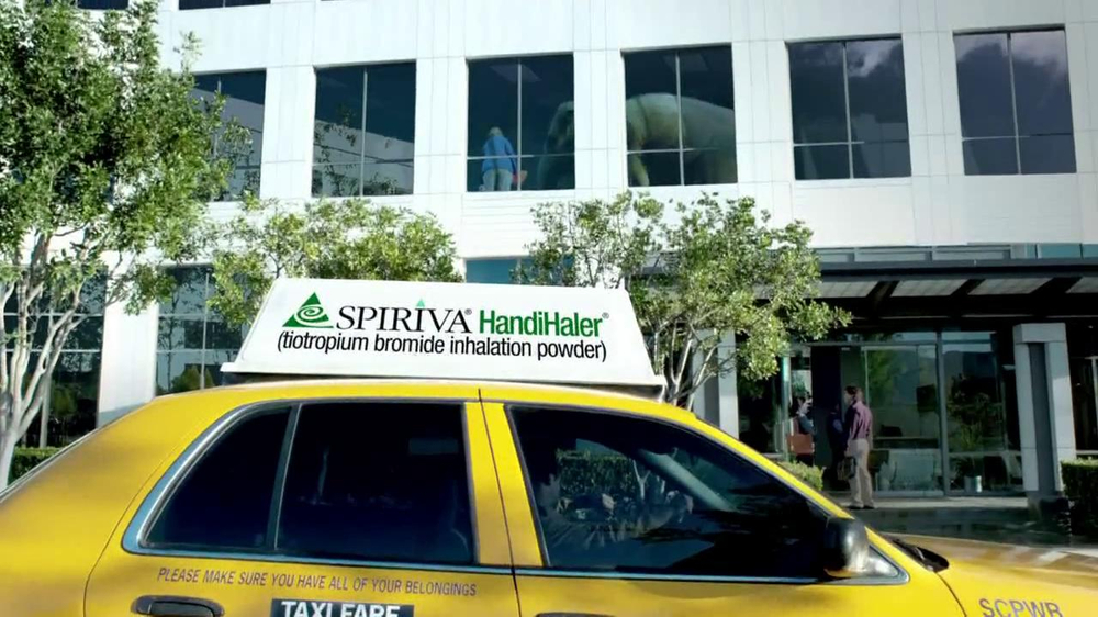 Spiriva TV Spot, 'Office Elephant' - Screenshot 5