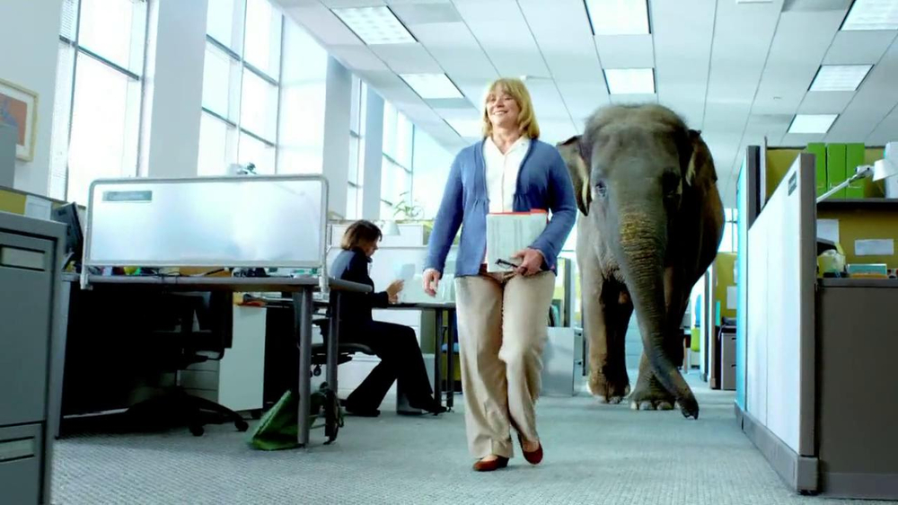 Spiriva TV Spot, 'Office Elephant' - Screenshot 6