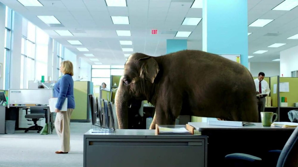 Spiriva TV Spot, 'Office Elephant' - Screenshot 7