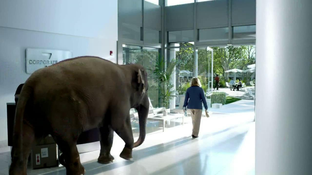 Spiriva TV Spot, 'Office Elephant' - Screenshot 8