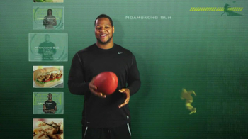 Subway Tuscan Chicken Melt TV Spot Featuring Ndamukong Suh