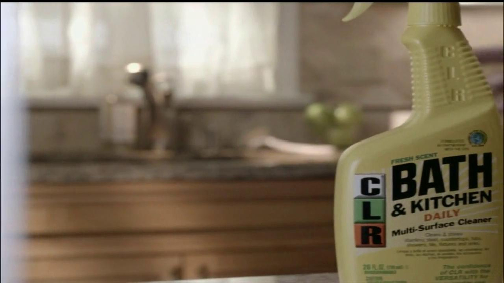 Clr Bath And Kitchen Tv Commercial