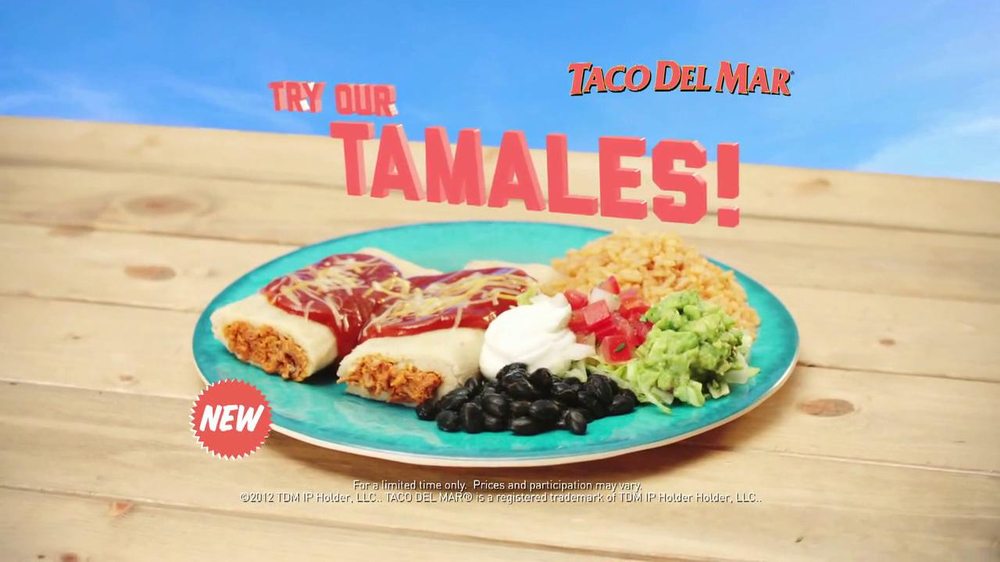 Taco Del Mar Tamales TV Spot - Screenshot 9