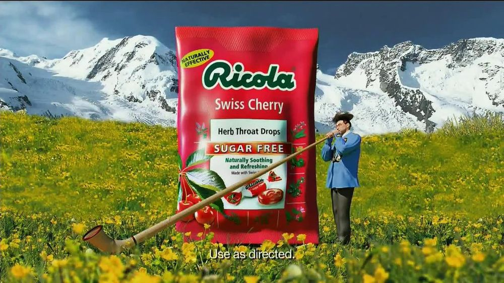 Ricola Sugar Free TV Spot  - Screenshot 9