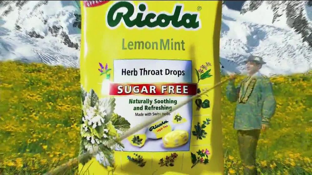 Ricola Sugar Free TV Spot  - Screenshot 8
