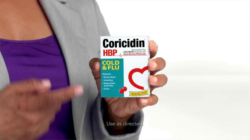 Coricidin HBP TV Spot, 'High Blood Pressure' - Screenshot 8