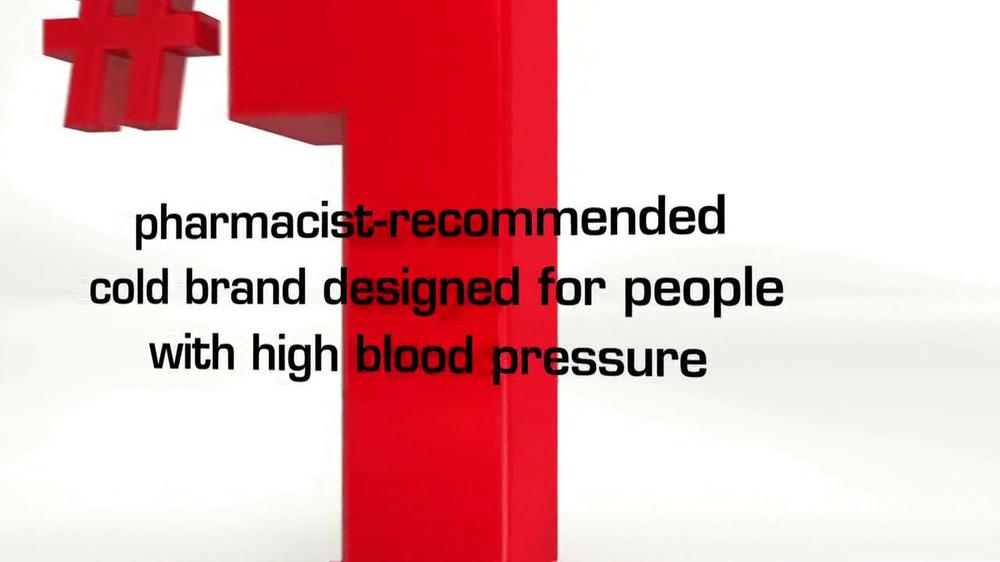 Coricidin HBP TV Spot, 'High Blood Pressure' - Screenshot 5