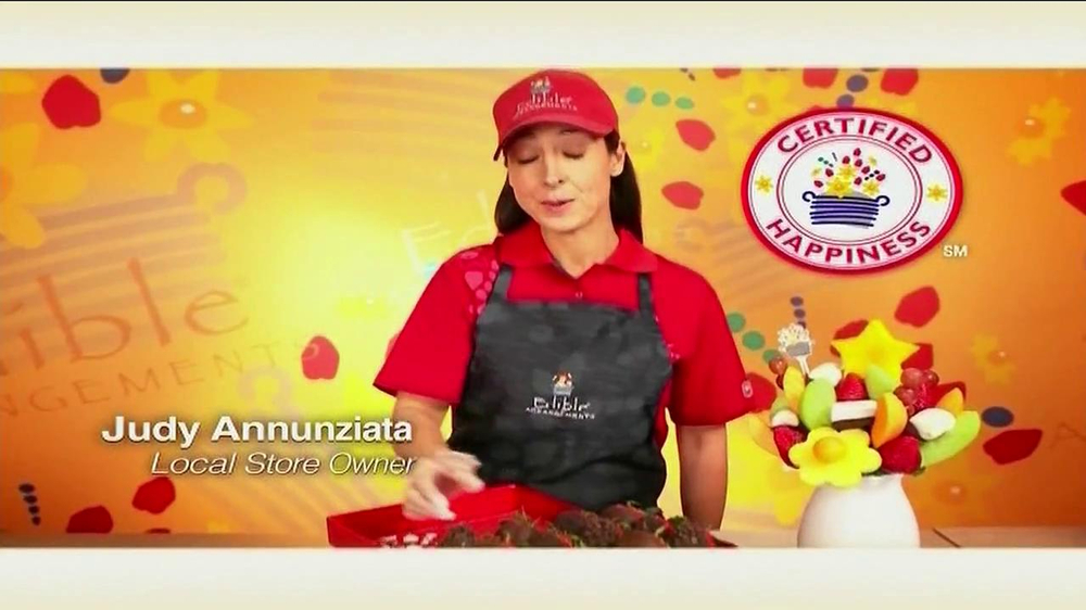 Edible Arrangements TV Spot 'Chocolate Strawberries' - Screenshot 4