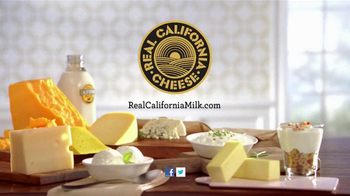 Real California Milk TV Spot, 'Shower Singer'