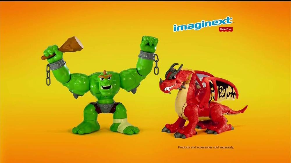 Imaginext Tv Commercial Ogre Dragon Ispot Tv