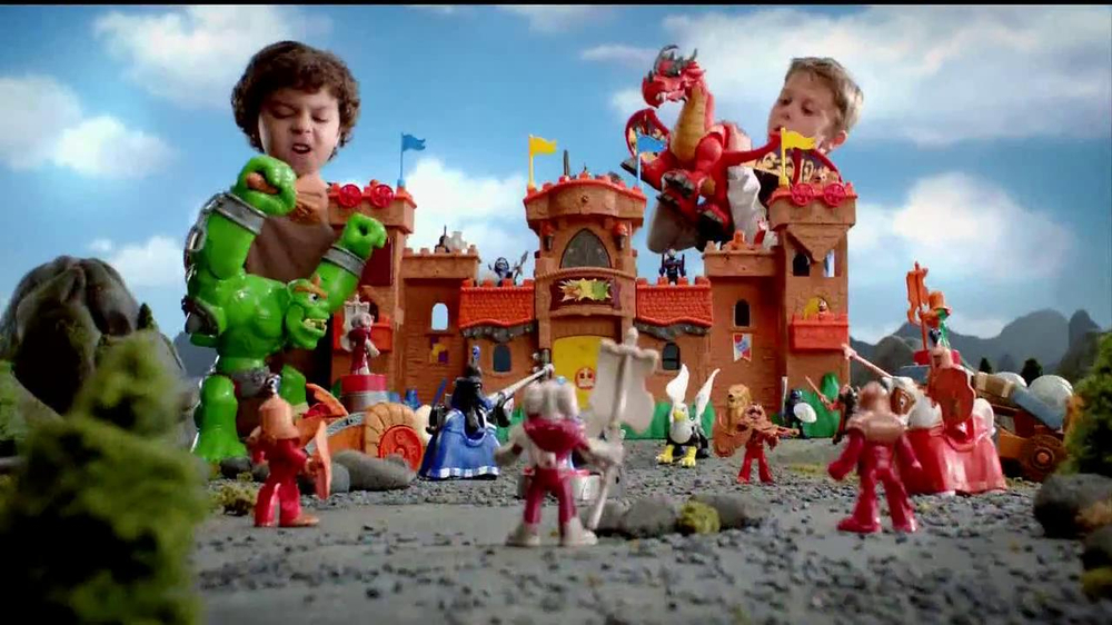 Imaginext Tv Commercial Ogre Dragon Ispot Tv