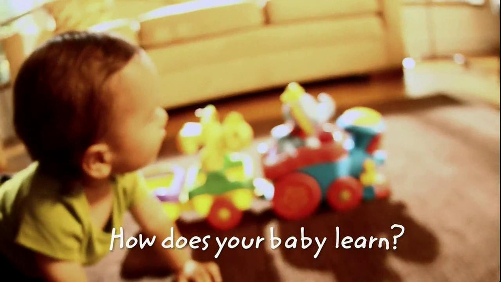 Disney Baby Sing-Along Choo-Choo TV Spot, 'Joy of Learning' - Screenshot 2