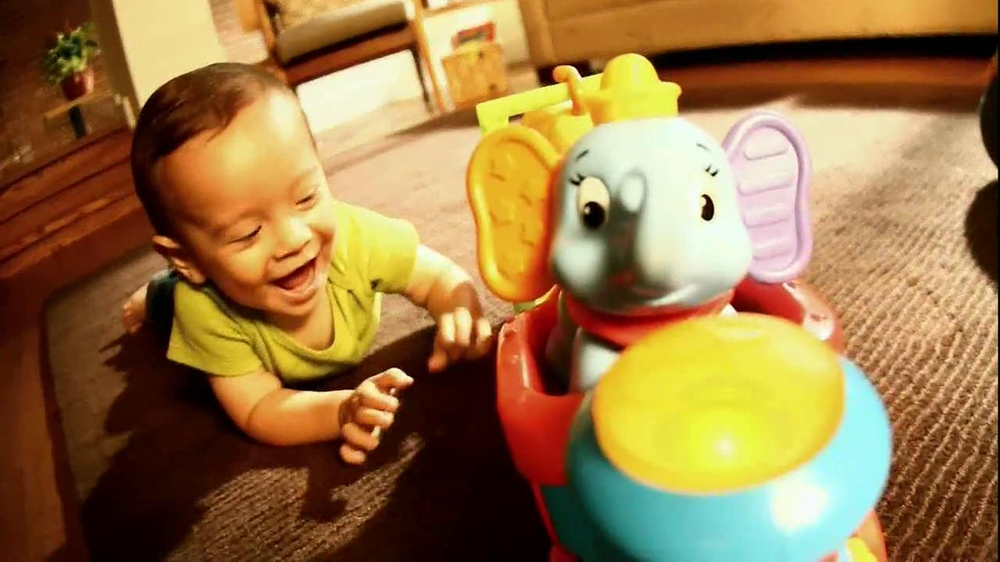 Disney Baby Sing-Along Choo-Choo TV Spot, 'Joy of Learning' - Screenshot 5