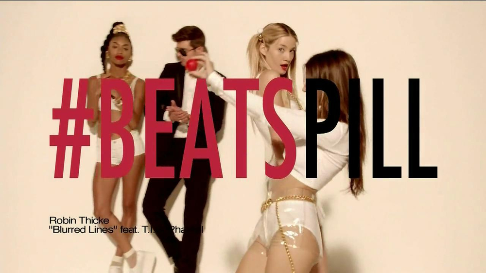 Beats Pill TV Spot, Song by Robin Thicke - Screenshot 1