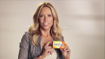 One A Day TV Spot Featuring Sheryl Crow