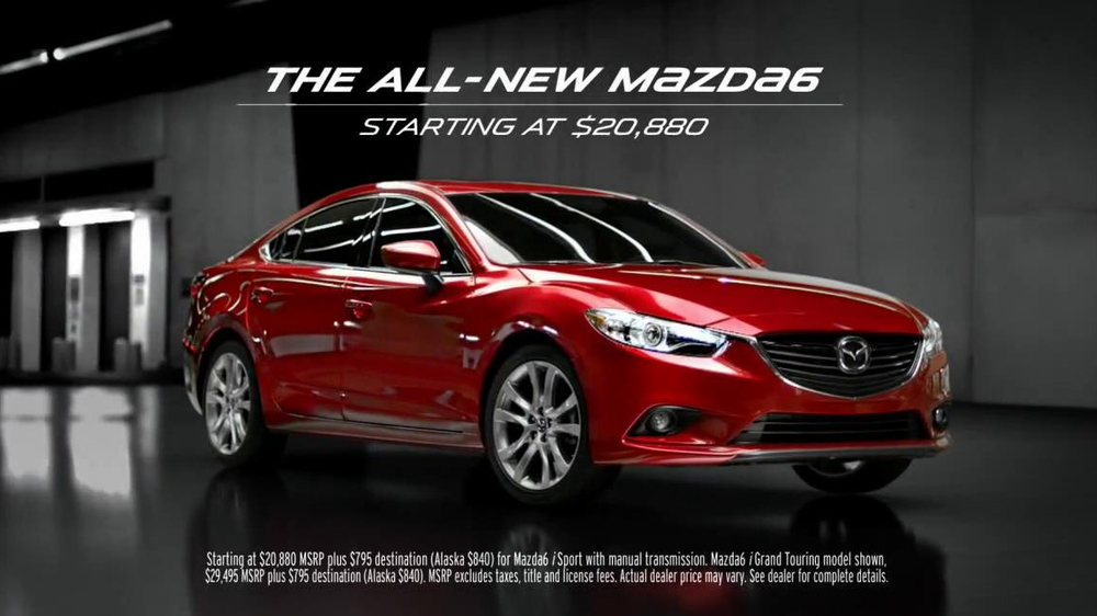 2014 Mazda6 TV Spot, 'High Jump' Song by The Who - Screenshot 10