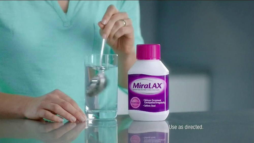 MiraLAX TV Spot, 'Big Red Bag' - Screenshot 4