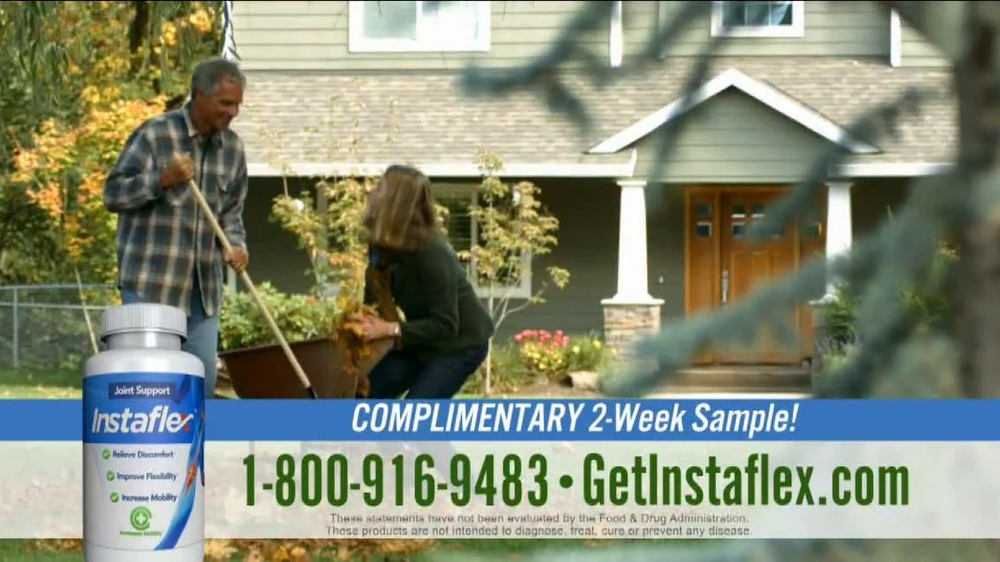 Instaflex TV Spot, 'Complimentary Sample: First 100 Callers' - Screenshot 3
