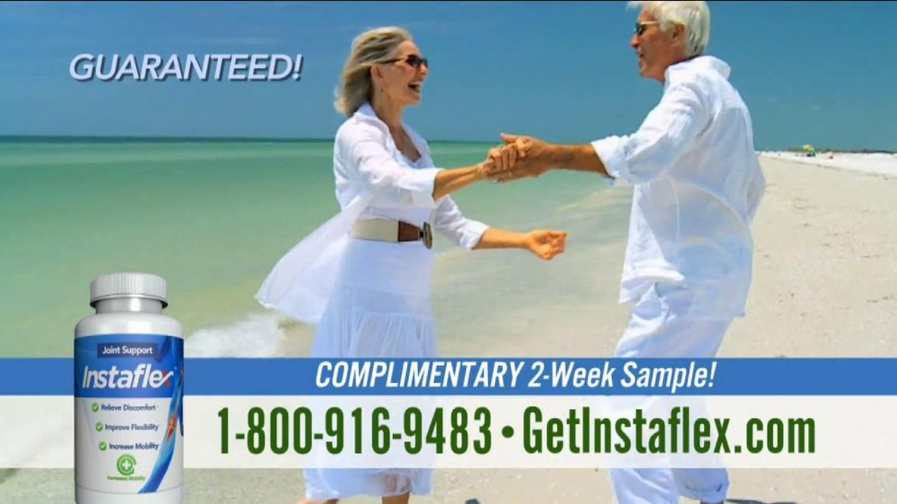 Instaflex TV Spot, 'Complimentary Sample: First 100 Callers' - Screenshot 8