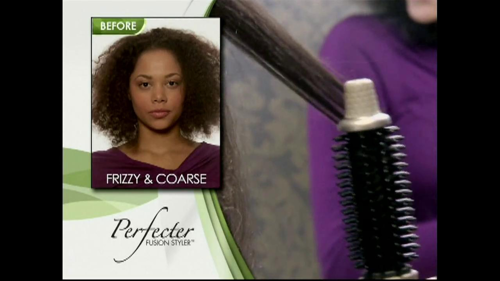 Perfecter Fusion Styler TV Spot - Screenshot 2