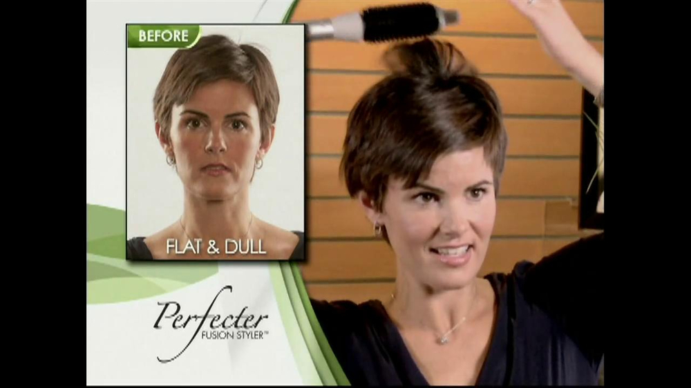 Perfecter Fusion Styler TV Spot - Screenshot 4