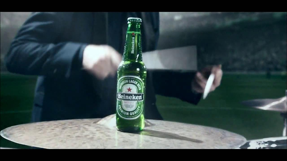 Heineken TV Spot, 'Champions League: Drums' - Screenshot 2