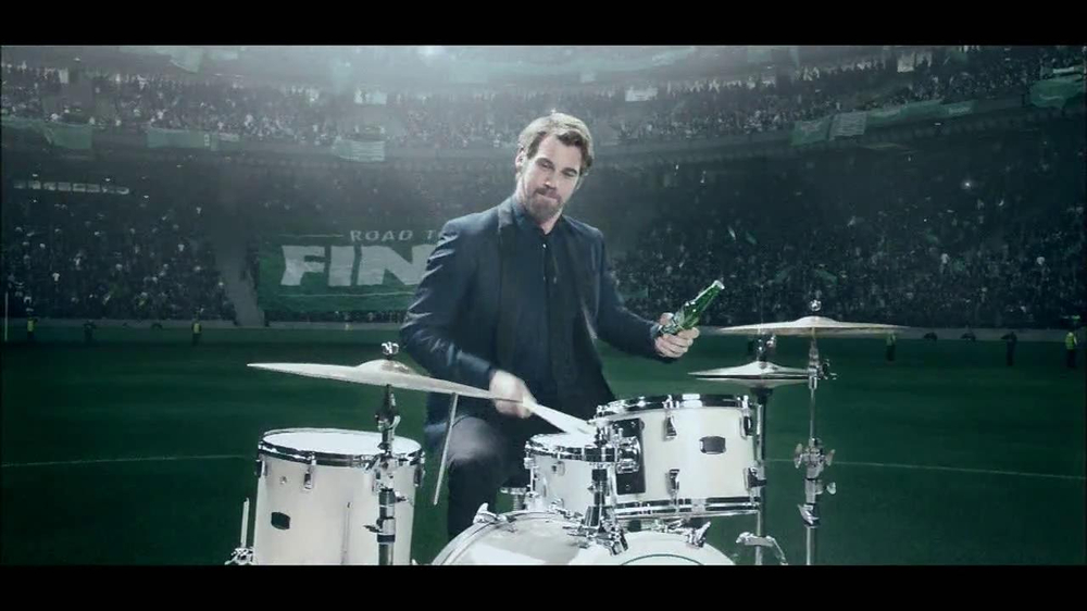 Heineken TV Spot, 'Champions League: Drums' - Screenshot 7