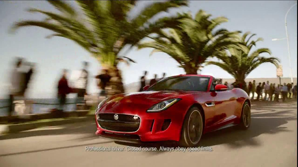 Jaguar F-Type TV Spot, 'It's Your Turn To Discover It' - Screenshot 4