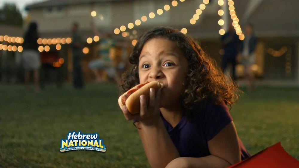 Hebrew National Hot Dog Commercial