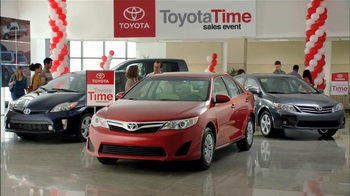2013 Toyota Venza TV Spot, 'Toyota Time' - 49 commercial airings