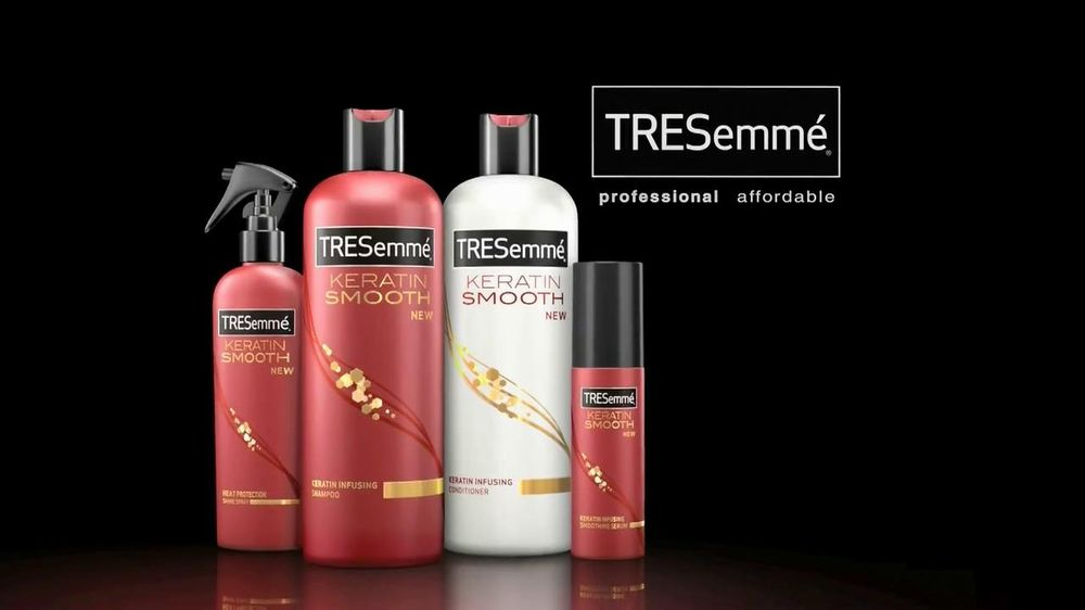 Health  amp  Beauty   Hair Care   Shampoos and ConditionersTresemme Keratin Smooth Commercial